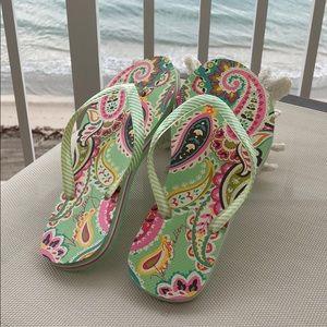 Shoes - Vera Bradley flip flops
